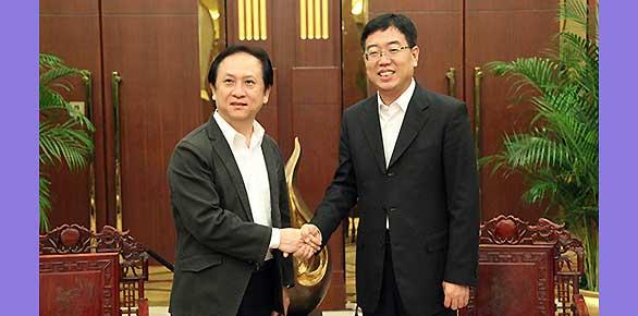 国家旅游局副局长杜江会见台湾客人