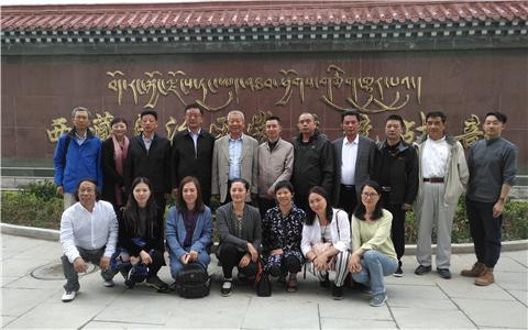 叶银川会见海内外华文媒体参访团:告诉世界一个真实的新西藏