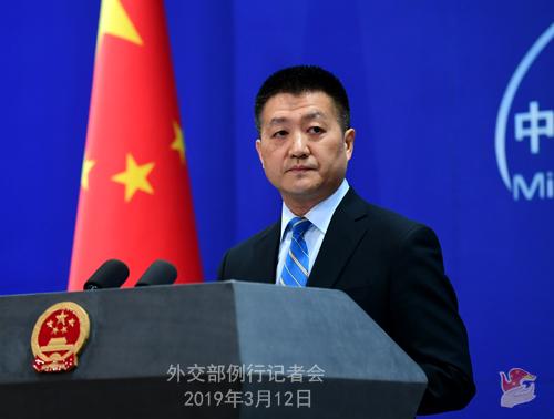 """台当局称大陆战机飞越台湾海峡""""中线""""是""""挑衅""""行为  外交部回应:狂言妄语实在令人气愤"""