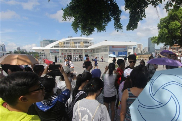 7月8日,廈門銀行組織臺灣實習生利用周末時間到廈門周邊參觀訪問